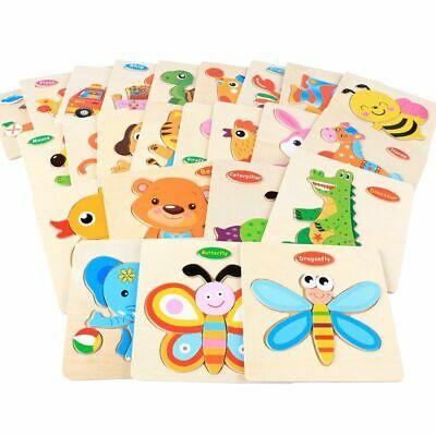Baby Kid Cartoon Animals Dimensional 3D Early Education