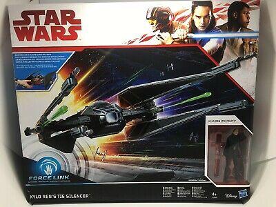Disney Hasbro Star Wars Kylo Ren's Tie Silencer Force Link