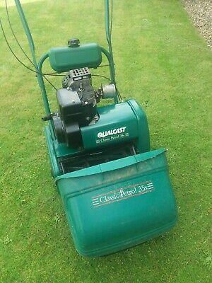 Qualcast Classic Petrol 35S Petrol Cylinder Lawn Mower