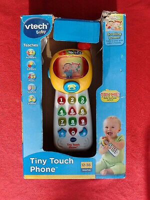 Vtech Baby  Tiny Touch Phone  Months