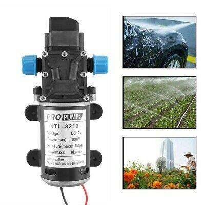 12V 160Psi High Pressure Diaphragm Self Priming Water Pump