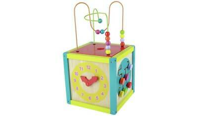 CHAD VALLEY PLAYSMART LARGE WOODEN ACTIVITY CENTRE