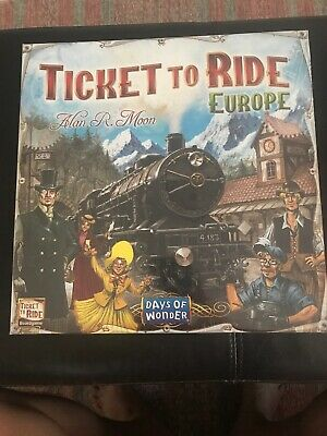 Days of Wonder Ticket to Ride Europe Board Game Brand New