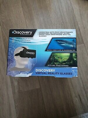 Discovery Channel Virtual Reality Glasses NEW