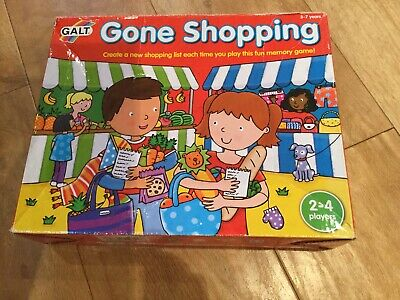 Galt Gone Shopping Game Toy Memory Game for Pre School