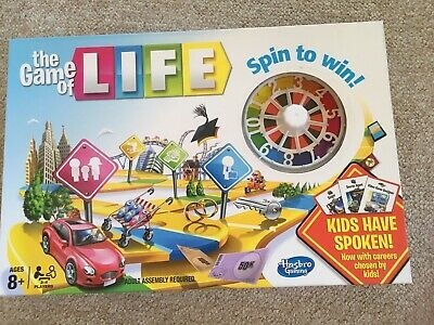 Game of Life Hasbro Family Board Game Excellent Condition