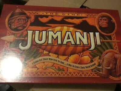 Jumanji Original Board Game brand new sealed perfect xmas