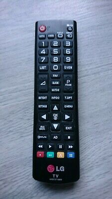 LG TV REMOTE CONTROL FOR FLAT SCREEN TV - AKB