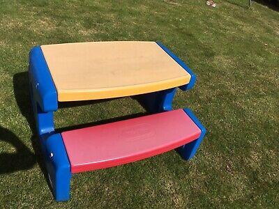 Little Tikes picnic table bench seat