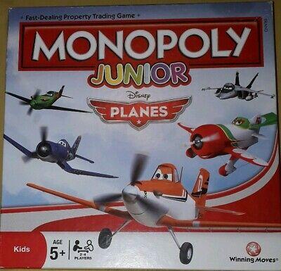 Monopoly Junior Disney Planes Board Game