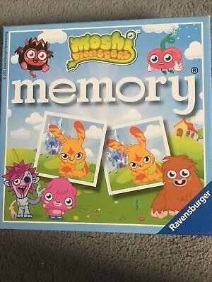 Moshi Monsters Memory Game