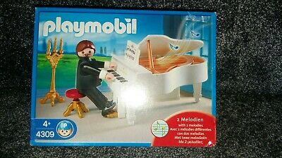 NEW SEALED PLAYMOBIL  - PIANO PLAYER MUSICAL