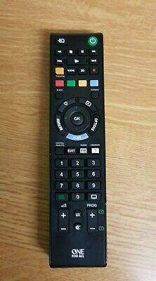 ONE FOR ALL URC Sony Replacement Remote Control -
