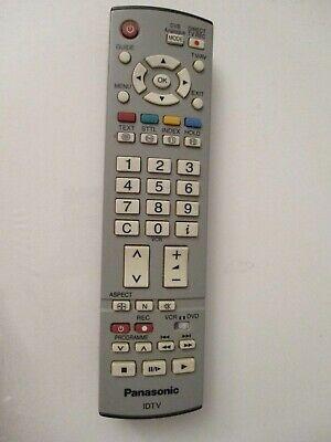Panasonic EURA TV remote for TH-50PV30B TV