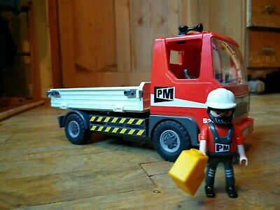 Playmobil  City Action Flatbed Construction Truck
