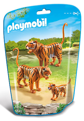 Playmobil  City Life Tiger Family