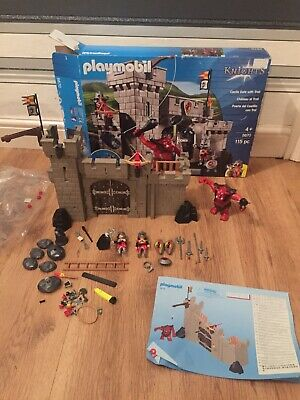 Playmobil  Knights Castle And Troll Playset
