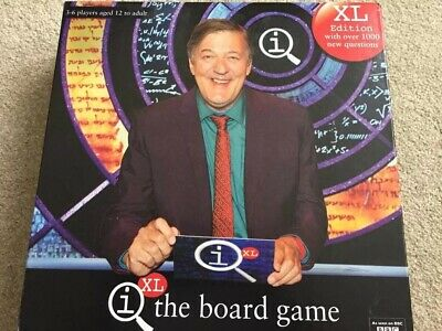 QI XL The Board Game Complete  Based on the TV Series