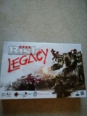 RISK LEGACY NEW AND SEALED