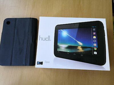 Tesco HUDL 16GB, Wi-Fi, 7in - Black - boxed with leath