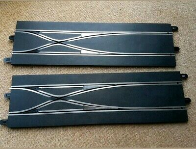 2 x Scalextric Digital Straight Lane Changer, C,