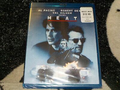 Heat NEW SEALED Blu Ray Al Pacino Robert DeNiro