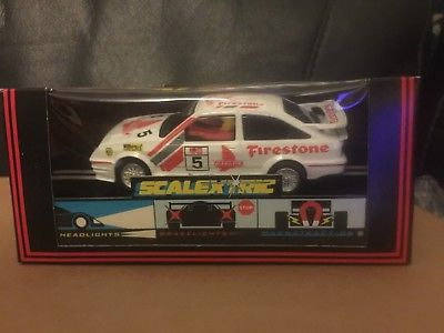 M/B SCALEXTRIC FORD SIERRA COSWORTH WHITE FIRESTONE REF C456