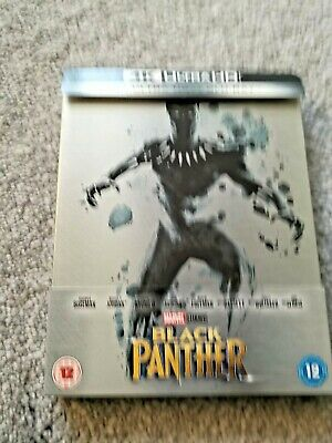 [Marvel] Black Panther - 3D Blu Ray Steelbook
