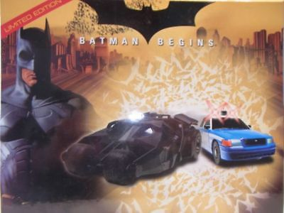 SCALEXTRIC CA BATMAN BEGINS TWIN PACK NEW