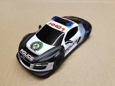 Scalextric Audi R8 Police Car, Flashing lights and siren,