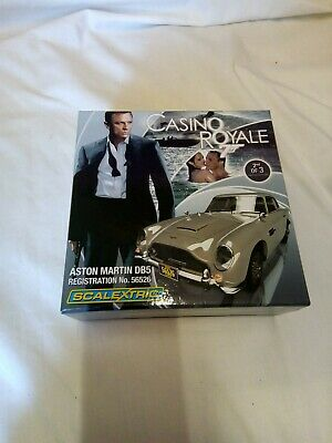 Scalextric CA Casino Royale James Bond 007 Aston Martin