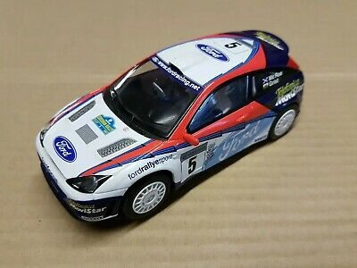 Scalextric Ford Focus WRC, C, McRae/Grist, Front Lights,