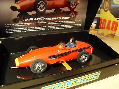 Scalextric Sport Ca - Maserati 250F 'Tin Plate' - Brand