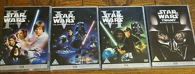 Star Wars - The Original Trilogy box set. Includes bonus