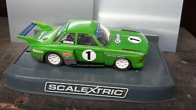 "Vintage Scalextric BMW TURBO CSL ""Gosser Beer"" Le Mans"