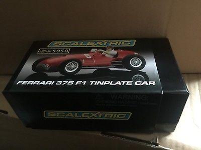 m/b Scalextric CA Tin Plate Limited Edition  Ferrari