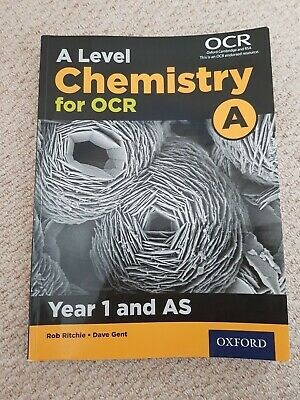 A Level Chemistry A for OCR Year 1 and AS Student Book by
