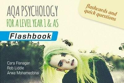 AQA Psychology for A Level Year 1 & AS: Flashbook Paperback