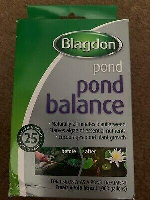 BLAGDON POND BALANCE  GALLON BLANKETWEED WATER TREATMENT
