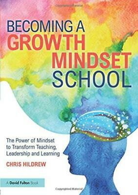 Becoming a Growth Mindset School Paperback – 23 Mar