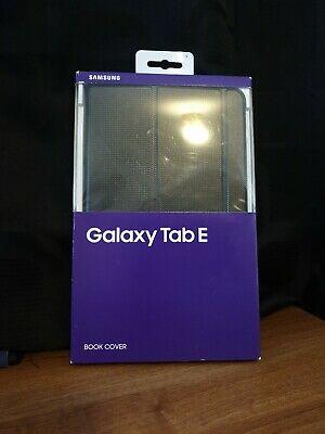 "Genuine Samsung Galaxy Tab E 9.6"" Black Book Cover Tablet"