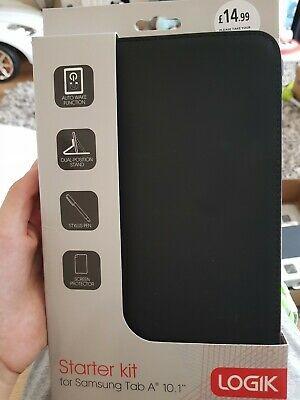 "LOGIK L101ASK16 Starter Kit Samsung Galaxy Tab A 10.1"" Case"