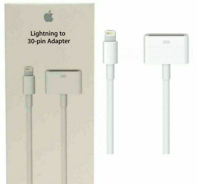 Lightning to 30-PIN Adapter Genuine Apple MD824ZM/A 0.2M