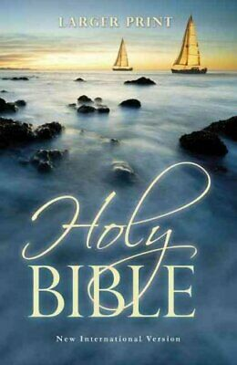 NIV, Holy Bible, Larger Print, Paperback by Zondervan