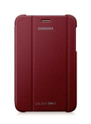 """SAMSUNG BOOK CASE COVER FOR GALAXY TAB 2 7 INCH 7"""" GARNET"""