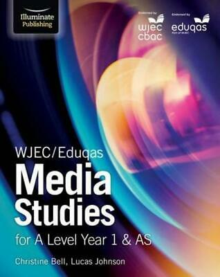 WJEC/Eduqas Media Studies for A Level Year 1 & AS Paperback
