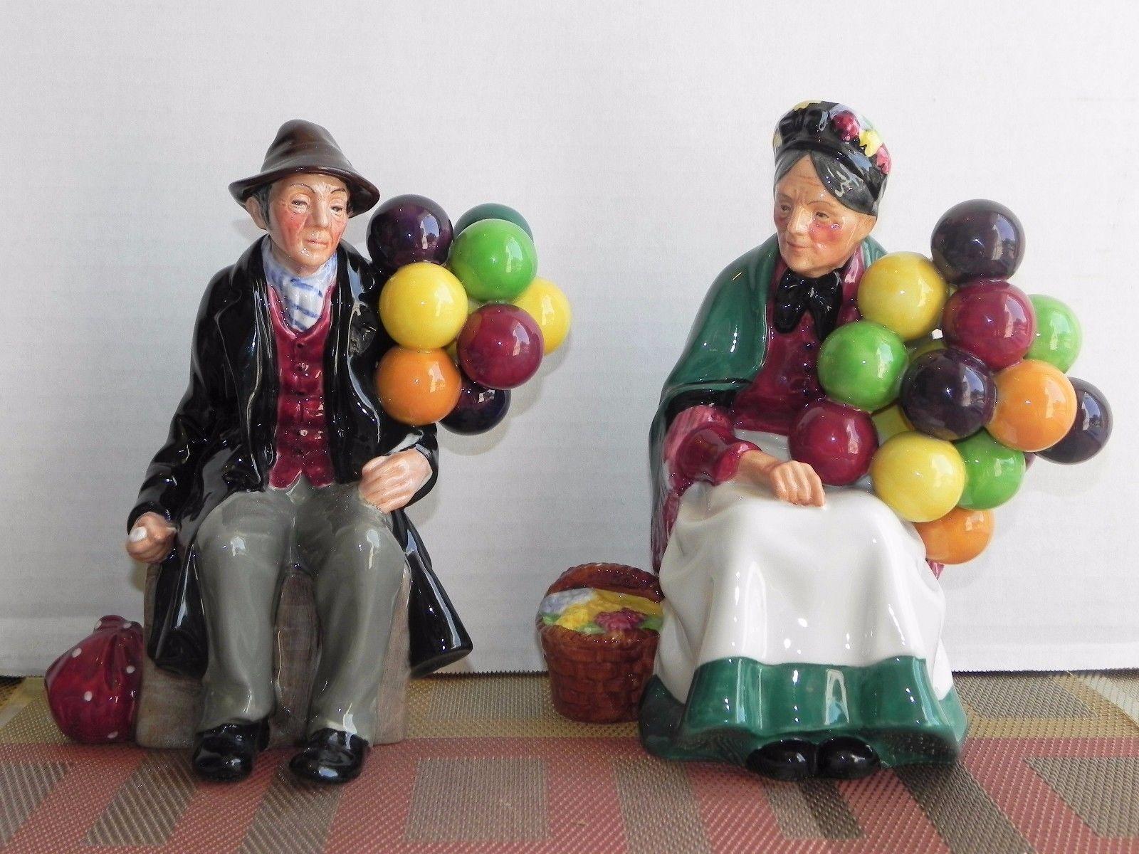 Royal Doulton Balloon seller and Balloon man