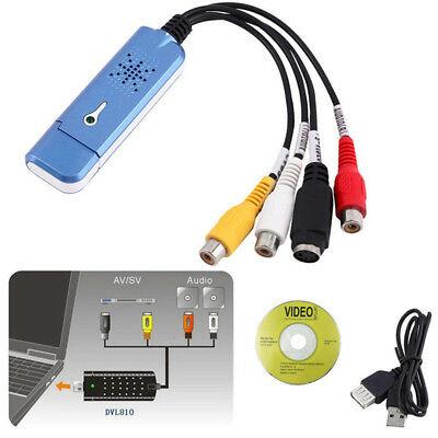 USB2.0 Converter Audio Video Capture Grabber Adapter For