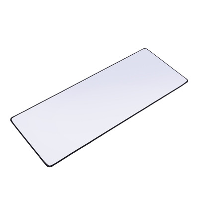 White Gaming Mouse Pad XXL Extra Large Size Extended Gamer