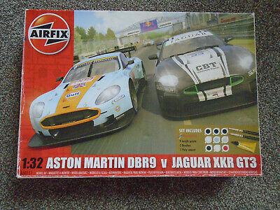 Airfix 1:32 Aston Martin DBR9 Vs Jaguar XKR GT3